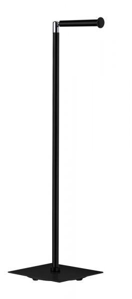 Smedbo Outline Lite ToilettenpapierhalterReservepapierhalter eckig, freistehend, schwarz _FB636