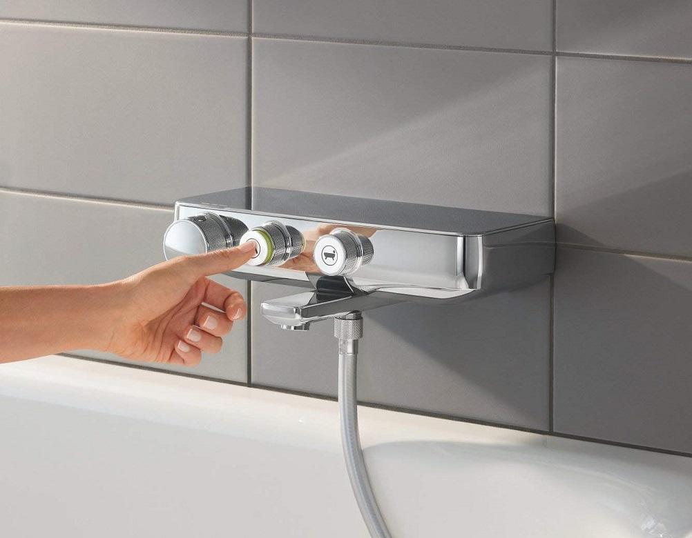 Beliebt Grohe Grohtherm SmartControl Thermostat-Wannenbatterie, chrom XW44
