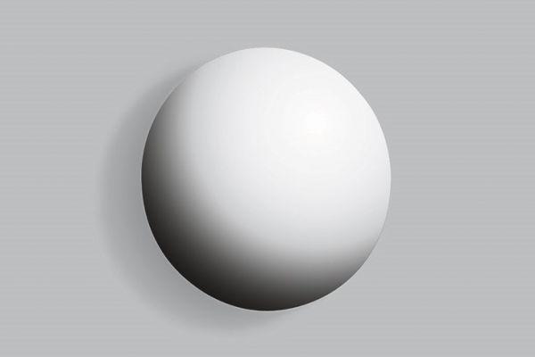 Alape UB.2 Design-Überlaufblende Ø 3,8 cm, verchromt