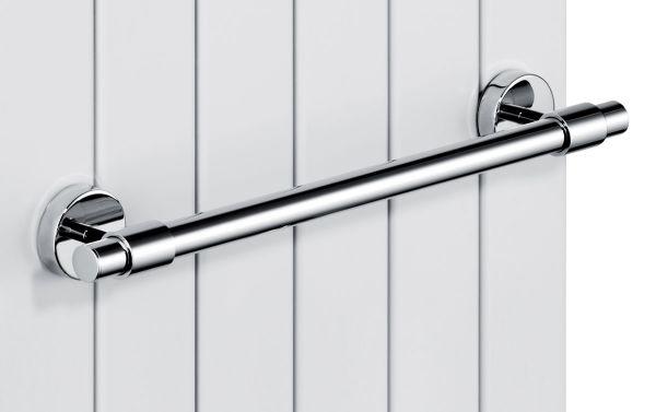 Giese Handtuchhalter B: 400mm mit Magnetbefestigung für Heizkörper, chrom