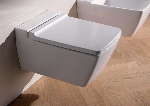 Keramag Xeno² Tiefspül-WC wandhängend, ohne Spülrand, weiß