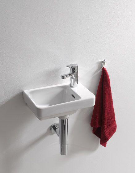 Laufen pro s handwaschbecken asymmetrisch wei mit 1 for Meuble laufen pro s