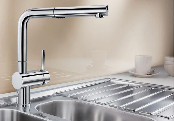 Blanco Linus-S Vario Küchenarmatur, chrom 518406