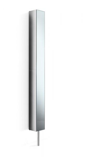 Lineabeta Pika Drehbarer Schrank Offen Mit Spiegel 16x183cm Edelstahl Poliert Hochschranke Badmobel Bad Badermaxx Alles Rund Ums Bad