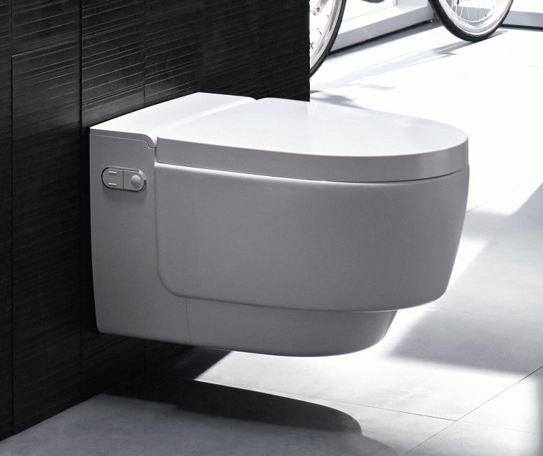 geberit aquaclean mera comfort wand dusch wc komplettanlage wei b dermaxx. Black Bedroom Furniture Sets. Home Design Ideas