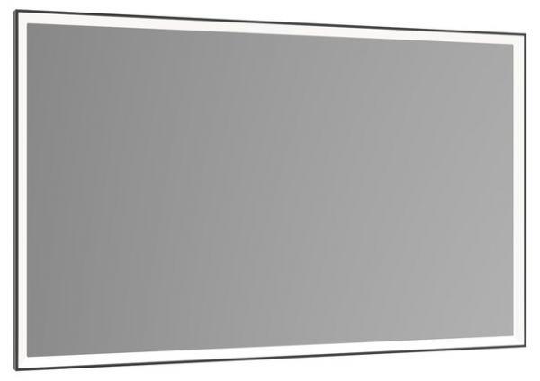 Keuco Royal Lumos Lichtspiegel Dali Steuerbar Schwarz Eloxiert 140x65cm